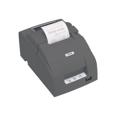 Epson C31C518653 TMU220D Two-Color Impact Receipt Printer - Dark Gray