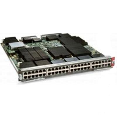 Cisco Ws-x6748-ge-tx-rf Express Forwarding 720 Interface Module - Switch - 48 Ports - Managed - Plug-in Module