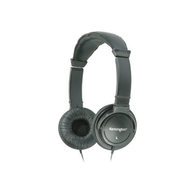 Kensington 33137 Hi Fi Headphones Headphones full size 3.5 mm plug black