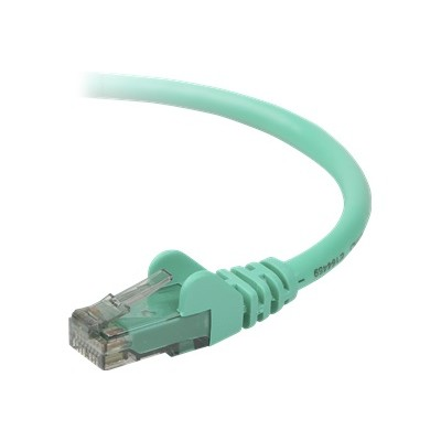 Belkin A3L980B07-GRN-S High Performance - Patch cable - RJ-45 (M) to RJ-45 (M) - 7 ft - UTP - CAT 6 - molded  snagless - green - B2B - for Omniview SMB 1x16  SM