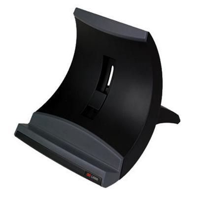 3M LX550 Vertical Notebook Riser Black 8.25 in x 8 in x 9.5 in