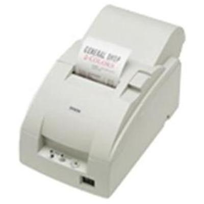 Epson C31C513103 TM-U220A Serial Receipt Printer with Auto Cutter & Power Supply - Cool White