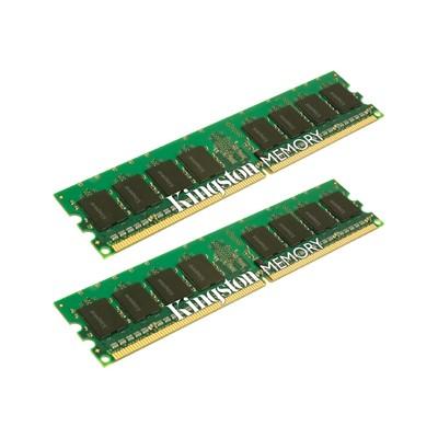 Kingston - Memory - 1 GB : 2 x 512 MB - DIMM 240-pin - DDR2 - 533 MHz / PC2-4200 - non-ECC - for Apple Power Mac G5 Dual  G5 Quad