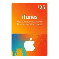 iTunes $25 iTunes Store Gift Card