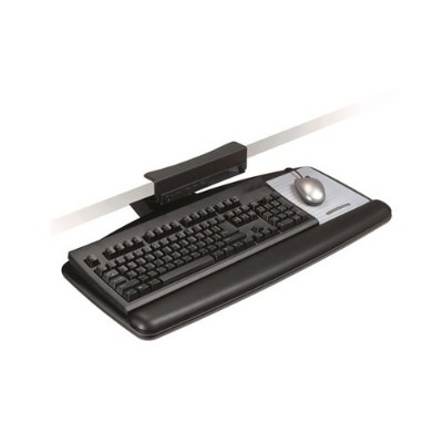 3M AKT65LE Adjustable Keyboard Tray  19.5 in x 27 in x 5 in