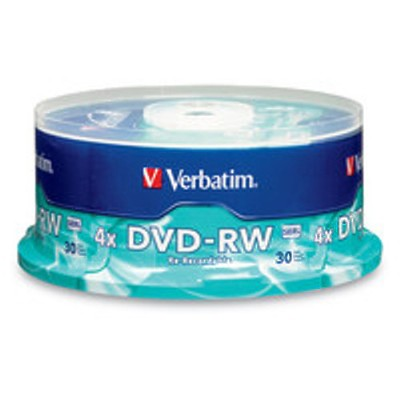 Verbatim 95179 DataLifePlus DVD-RW 4.7GB 2x 30-Pack Spindle