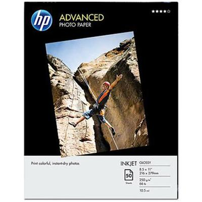 HP Inc. Q7853A Advanced Photo Paper  glossy - 8.5 x 11 in (50 sheets)