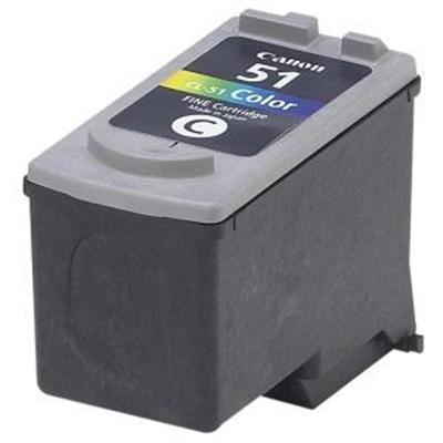 Canon 0618B002 CL-51 - High Capacity - color (cyan  magenta  yellow) - original - ink cartridge - for PIXMA iP6210  iP6220  iP6310  MP150  MP160  MP17