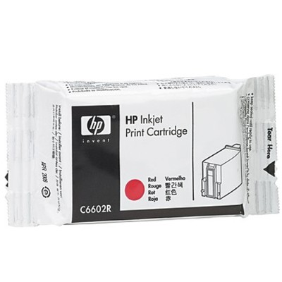 Red Generic Inkjet Print Cartridge