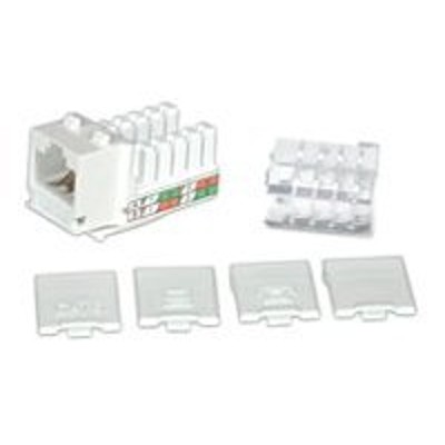 Cables To Go 29311 Modular insert - white - 1 port