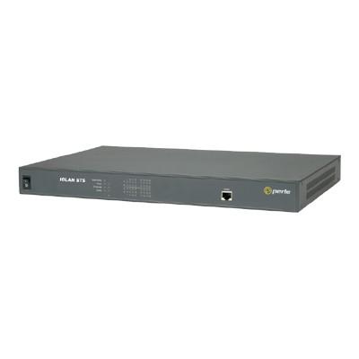 Perle 04030444 IOLAN STS16 - Terminal server - 16 ports - 10Mb LAN  100Mb LAN  GigE  RS-232 - 1U