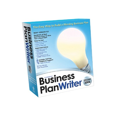 PlanWrite Business Plan Writer Deluxe 2006 - ( v. 9.0 ) - complete package - 1 user - Win