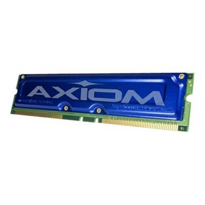 Axiom AX - Memory - 256 MB - RIMM 184-pin - RDRAM - 800 MHz / PC800 - ECC - for IBM IntelliStation E Pro 6867  IntelliStation M Pro 62XX  Pro 68XX  PC 300 PL
