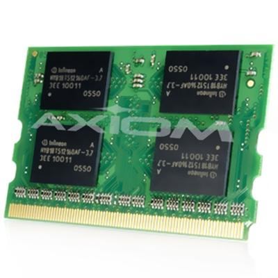 Axiom Memory CF-BAU0256U-AX AX - DDR - 256 MB - MicroDIMM 172-pin - 333 MHz / PC2700 - 2.5 V - unbuffered - non-ECC - for Panasonic Let's Note CF-T2  CF-W2  CF-