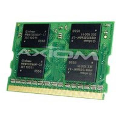 Axiom Memory CF-BAU0512U-AX AX - DDR - 512 MB - MicroDIMM 172-pin - 333 MHz / PC2700 - 2.5 V - unbuffered - non-ECC - for Panasonic Let's Note CF-T2  CF-W2  CF-