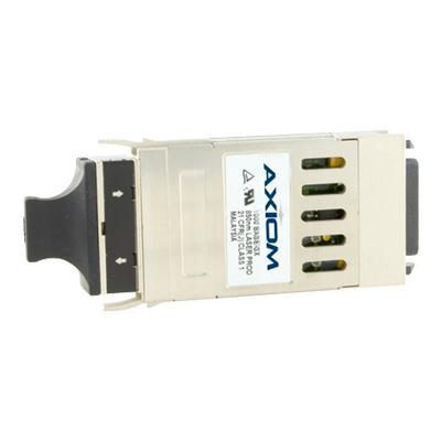 Axiom Memory WS-G5486-AX GBIC transceiver module (equivalent to: Cisco WS-G5486) - Gigabit Ethernet - 1000Base-LX  1000Base-LH - SC - for Cisco 6400  Catalyst 6