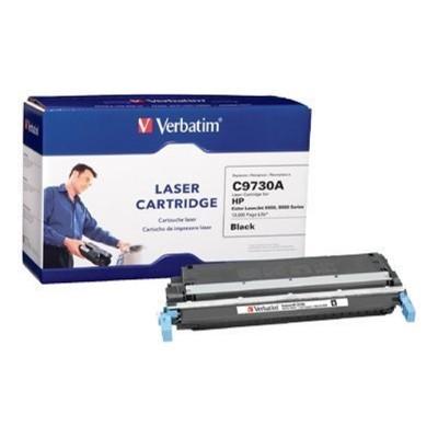 HP C9730A Remanufactured Toner Cartridge Black (Color LaserJet 5500  5550 Series)
