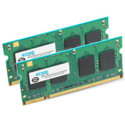 EDGE Memory PE20487702 2GB (2X1GB) PC2-5300 667MHz 200-pin Non-ECC Unbuffered DDR2 SDRAM SODIMM Kit for Select iMac Models