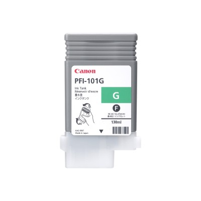 Canon 0890B001AA LUCIA PFI-101 G - 130 ml - green - original - ink tank - for imagePROGRAF iPF5000  iPF5100  iPF6100  iPF6200