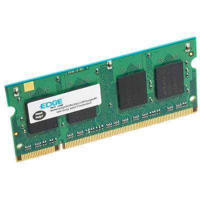 Edge Memory PE206130 512MB PC2-4200 533MHz 200-pin Non-ECC Unbuffered DDR2 SDRAM SODIMM