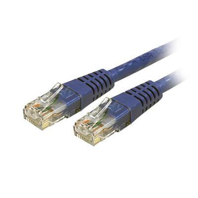 StarTech.com C6PATCH5BL 5 ft Blue Cat6 / Cat 6 Molded Patch Cable 5ft - Patch cable - RJ-45 (M) to RJ-45 (M) - 5 ft - CAT 6 - molded - blue