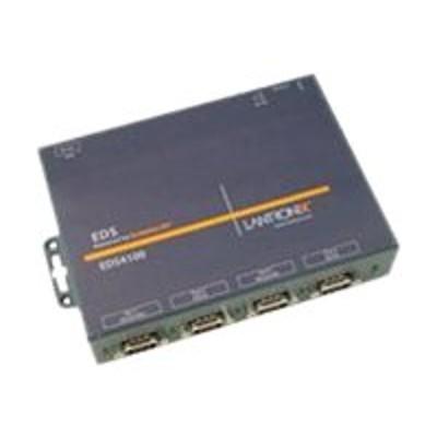 Lantronix ED41000P0-01 Device Server EDS 4100 - Device server - 4 ports - 100Mb LAN  RS-232  RS-422  RS-485