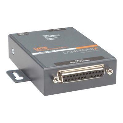 Lantronix UD1100IA2-01 Industrial Device Server UDS1100-IAP - Device server - 10Mb LAN  100Mb LAN  RS-232  RS-422  RS-485