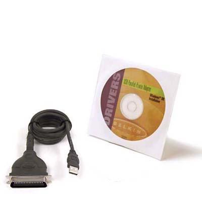 Belkin USB Parallel Printer Adapter - Parallel adapter - USB - parallel
