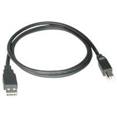 Cables To Go 28101 3ft (1M) USB 2.0 A/B Device Cable Black
