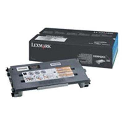 Lexmark - Black - original - toner cartridge - for C500n  X500n  502n
