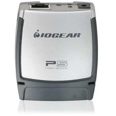 Iogear GPSU21 USB 2.0 Print Server  1-Port