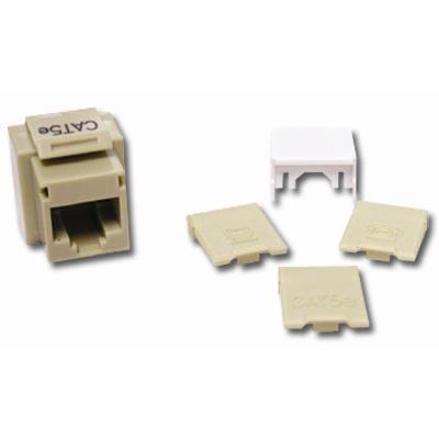 Cables To Go 03790 Premise Plus - Modular insert - RJ-45 - ivory - 1 port