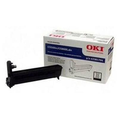 Oki 43381704 Black Image Drum for C5500n/C5800Ldn - Type C8