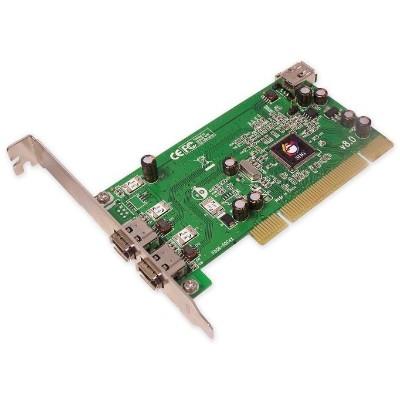 Siig Nn-440012-s8 1394 3-port Pci I/e - Firewire Adapter - Pci - Firewire - 3 Ports