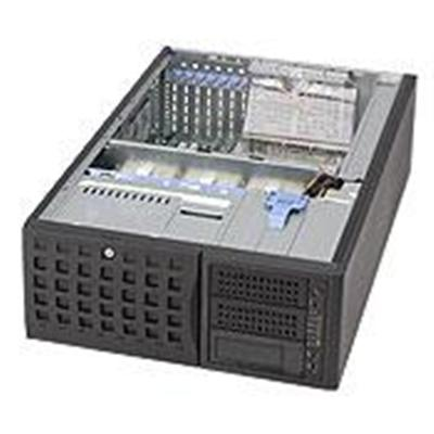 Super Micro Cse-745tq-r800b Supermicro Sc745 Tq-r800b - Tower - 4u - Sata/sas - Hot-swap 800 Watt - Black - Usb