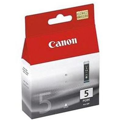 Canon 0628B009 PGI-5 Twin Pack - 2-pack - 26 ml - pigmented black - original - ink tank - for PIXMA iP3500  iP4500  iP5300  MP510  MP520  MP610  MP810