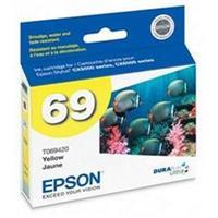 Epson 69 DURABrite Ultra Yellow Ink Cartridge for Stylus CX5000/CX6000/CX7000F