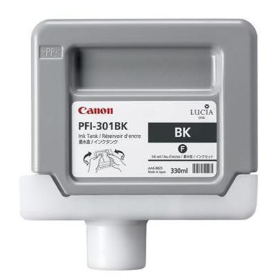 Canon 1486b001aa Pfi-301bk 330ml Pigment Black Ink Tank