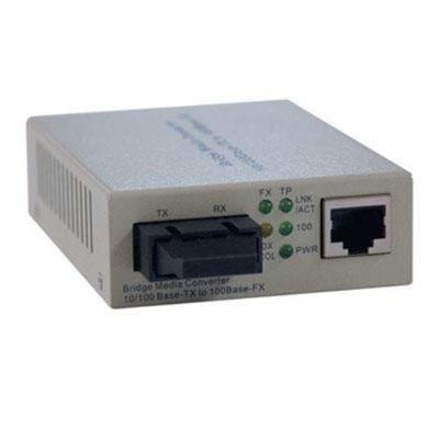 TrippLite N784-001-SC Fiber Optic - 10/100BaseT to 100BaseFX-SC Media Converter 2km 1300nm