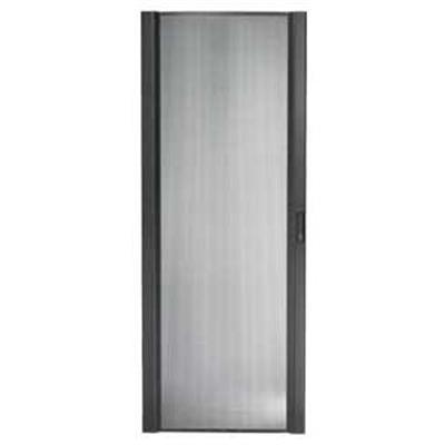 APC - Rack door (vented) - black - 42U - for NetShelter SX