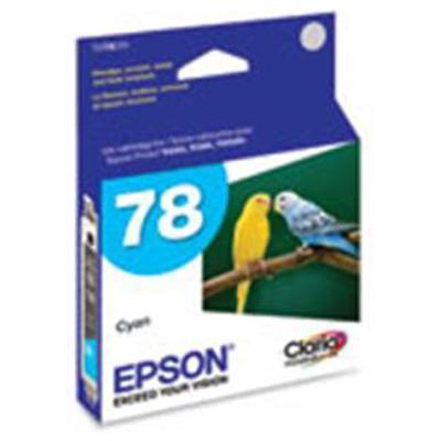 EPS 78 Cyan Ink Cartridge, 430 Page Yield - Epson T078220