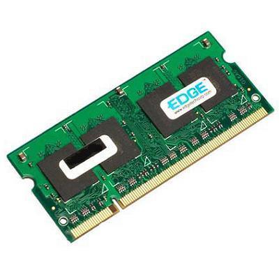 Edge Memory PE204860 512MB (1X512MB) PC25300 Non ECC Unbuffered 200Pin DDR2 SODIMM