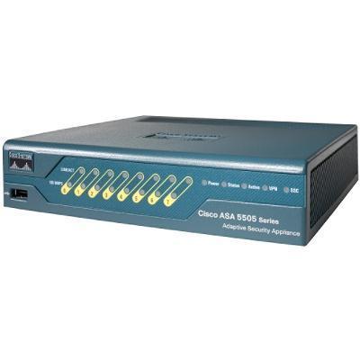 Cisco ASA5505 UL BUN K9 ASA 5505 Firewall Edition Bundle Security appliance 8 ports unlimited users 100Mb LAN