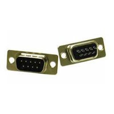 Cables To Go 01557 DB9 D-Sub Solder Connector - Data connector - DB-9 (M) - gold