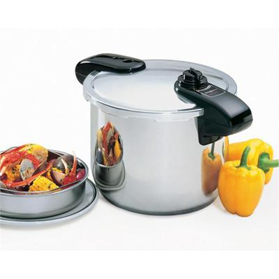 Professional 8-Quart Stainless Steel Pressure Cooker