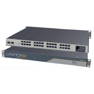 Lantronix EDS01612N-02 Data Center-Grade Evolution Device Server EDS16PR - Device server - 16 ports - 10Mb LAN  100Mb LAN  RS-232 - 1U