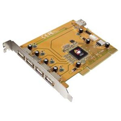 SIIG JU-P50212-S5 USB 2.0 5-Port PCI