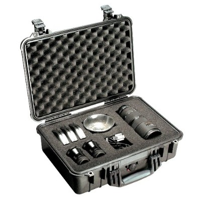 Pelican Products 1500-000-110. 1500 Hard Case - Black