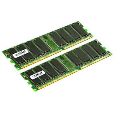 Axiom Memory M9298G/A-AX 2GB (2x1GB) PC3200 400MHz DDR SDRAM DIMM 184-pin Memory Module