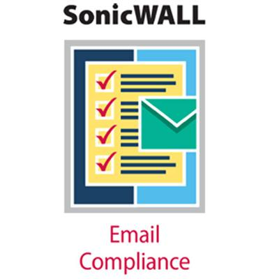 SonicWALL Email Compliance Subscription - Subscription license ( 1 year ) - 1 server  25 users